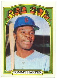 1972 Topps Baseball Cards      455     Tommy Harper